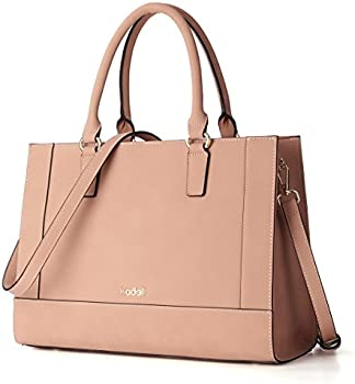 Kadell Womens Matte PU Leather Tote Handbags Purse