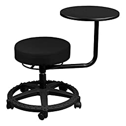 Norwood Commercial Furniture NOR-TSU1049-SO  Adjustable Height  Stool w/ Tablet Arm, 18\