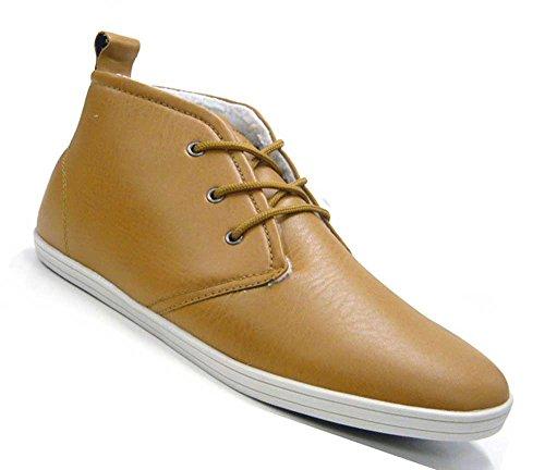Schuhe City Sneaker dick Sneaker Braun Top High Schuh gefüttert Herren Evqd6xqa