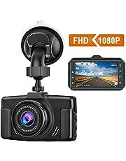 CHORTAU Dash Cam 1080P FHD 2021 Updated Car Dash Camera 3 inch Dashboard Camera with Night Vision, 170°Wide Angle, Parking Monitor, Loop Recording