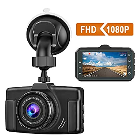 CHORTAU 1080P Car Dash Camera
