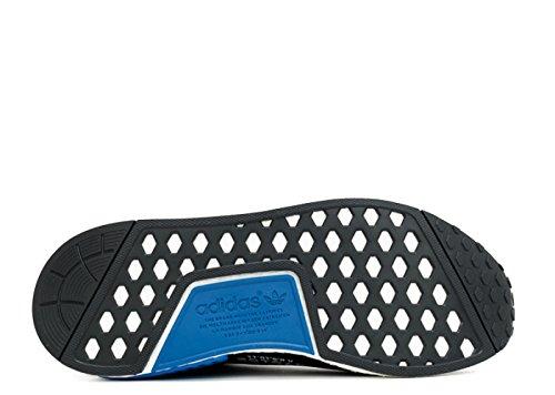 Nmd City Calzino 1 Primo Knit S79152 Nero / Bianco / Blu (7) (10)