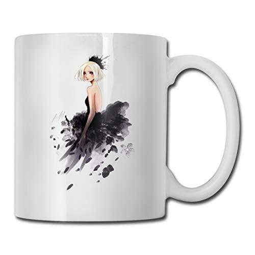 Tom Boy Dance Girls Novelty Cool Funny Coffee Tea Mugs Cups For Men Women, 11 OZ, -