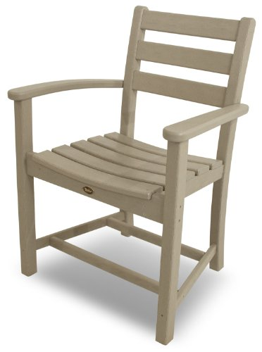 Cheap Trex Outdoor Furniture Monterey Bay Dining Sand Castle Arm Chair