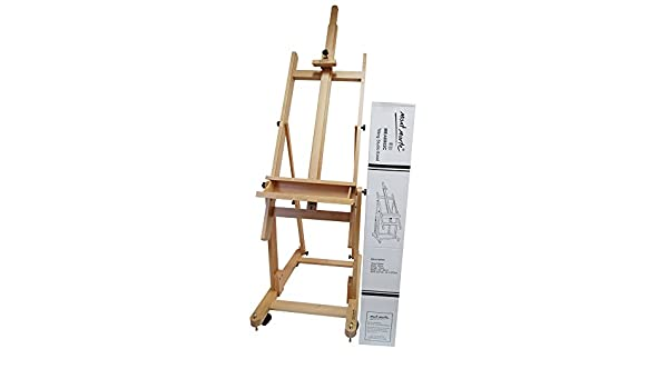 Mont Marte Tilting Studio Easel  Height Adjustable Wooden