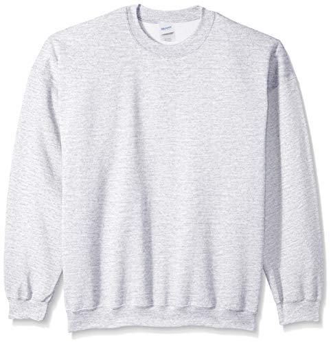 Lightweight Crewneck Sweatshirt (Gildan Men's Fleece Crewneck Sweatshirt, ash X-Large)