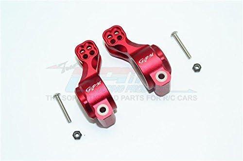 GPM Arrma SENTON/TALION/VIOLATION/LIMITLESS Upgrade Parts Aluminium Rear Knuckle Arm – 1Pr Set Red
