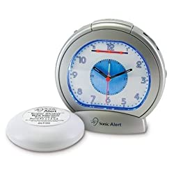 Analog Clock with Super Shaker bed vibrating unit & Extra Loud Alarm