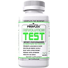 REVOLUTION TEST, Supports Natural Testosterone Levels, Manages Estrogen Levels, Heart, Liver, Prostate Support ALL-IN-ONE, Revitalize Energy, Promote Strength Gains and Stamina