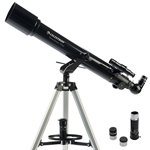 Celestron 21036 PowerSeeker 70AZ Telescope (Black) Celestron Featured