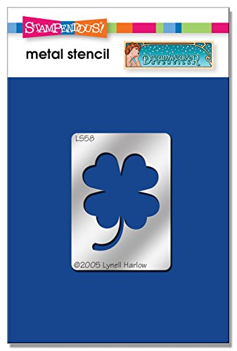 Stampendous DWLS58 Good Luck Clover Dreamweaver Stencil from STAMPENDOUS