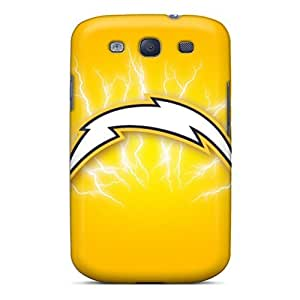 Shockproof Hard Phone Cover For Samsung Galaxy S3 (lzT17996eLeG) Unique Design High-definition San Diego Chargers Image