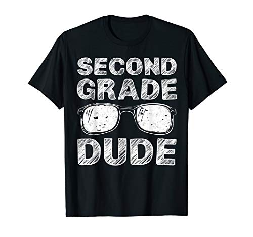 2nd Grade Dude First Day of School Gift Back to School T-Shirt