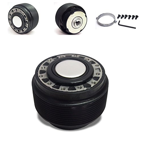 Black 6-Hole Racing Steering Wheel Hub Adapter For Honda 88-95 Civic/CR-X EC/ED/EF/DA UrMarketOutlet