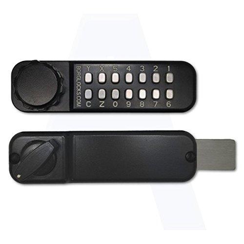 BORG LOCKS BL2615 Marine Grade Pro Digital Horizontal Rim Deadbolt Lock