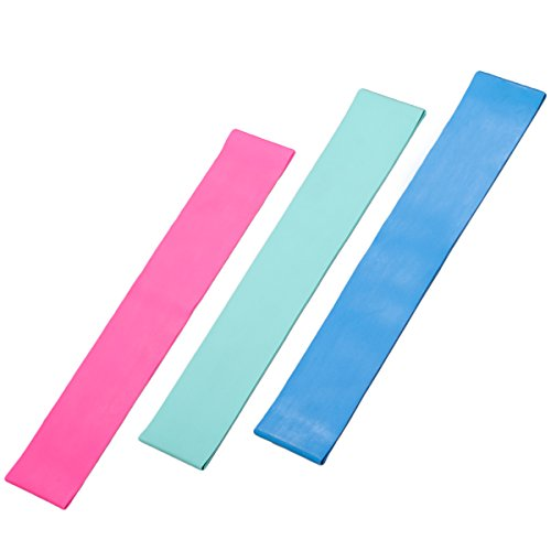 Rep Resistance Training Bands - Set of 3 Fitness Exercise Ba