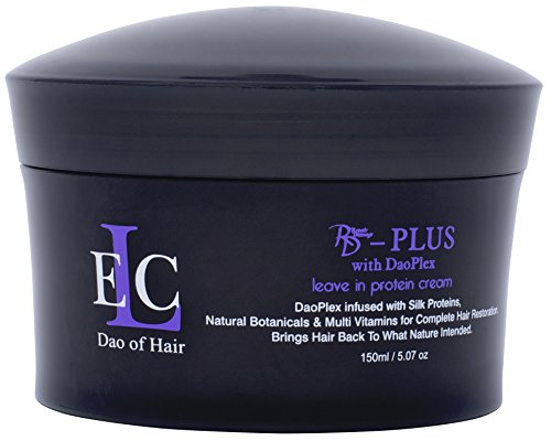 (ELC Dao of Hair Repair Damage RD Plus Leave-In Protein Cream (5oz) Healing & Smoothing Leave-in Treatment, Repairs, Smooths, Heat & Color Protection, Blocks Humidity & Frizz. Reduces dry time. )