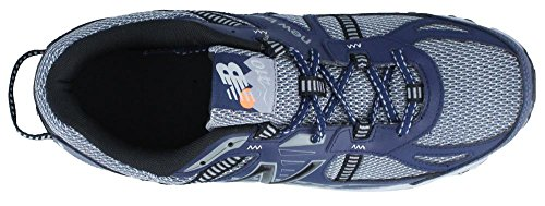 New Balance Hommes T410v4 Gris / Marine Chaussure Athlétique