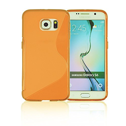 How to buy the best galaxy s6 case wallet orange?