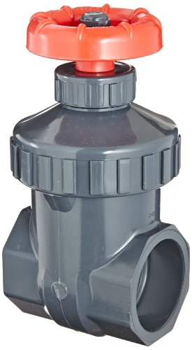 Spears PVC Gate Valve, Non-Rising Stem, Viton O-Ring, 1'' Socket by Spears Manufacturing (Image #1)