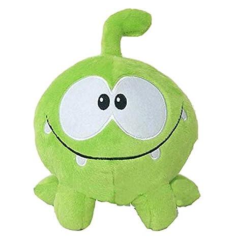 Amazon.com: peluche juguetes kawaii om nom rana cortar la ...