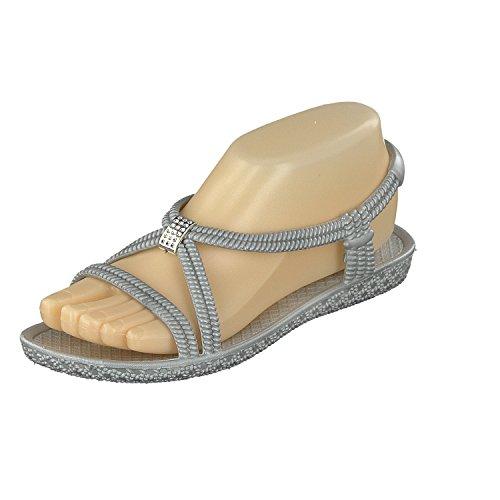 De Bien Siebi De Sandales Et être De Bain De Gris Tenno Dames Plage Chaussures xqBxXEap