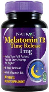 La mélatonine Time Release (aider à établir