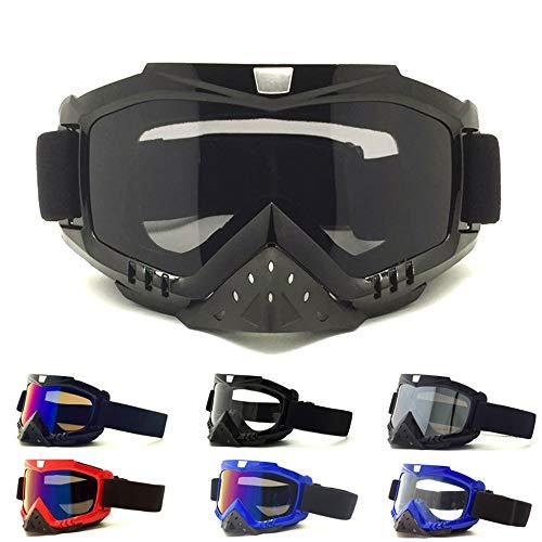 KD Gafas De Nieve Unisex A Prueba De Viento 100% Protección UV, Ciclismo Motocicleta Moto De Nieve Gafas De Esquí, Gafas De Esquí para Deportes Al Aire Libre por KD
