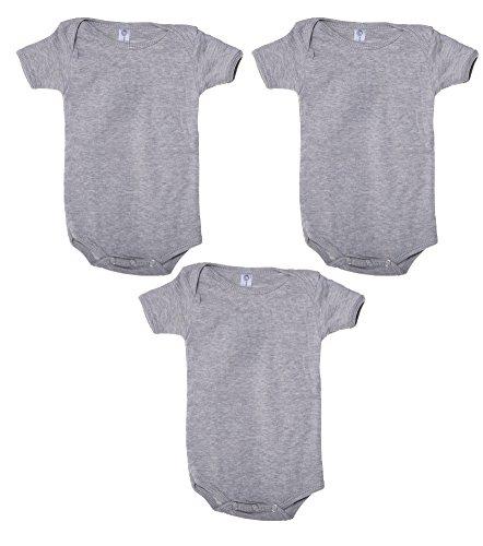 Mato & Hash Unisex Baby Cotton Infant Baby Toddler One Piece Lap Shoulder Jumpsuit