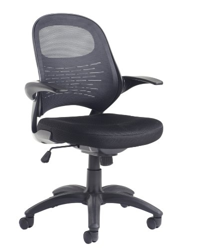 Orion Mesh Operators Chair - Length: 640 MM; Width: 710 MM; Height: 1000-1095 MM; Color: Black Office 247