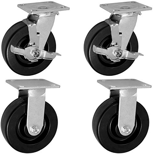 Knaack 695 Caster Set with Brakes, 6