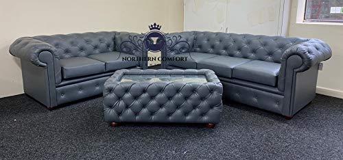 Chesterfield Sofa in Slat