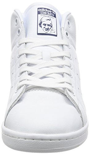 da adidas Bianco Dark Blue White Scarpe Smith Unisex Fitness Footwear Adulto Stan Mid rw8rqIT