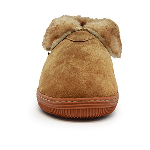 Pictures of Lamo Men's Bootie Shoe Suede Chestnut Chestnut 2