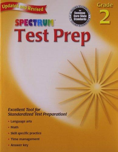 Test Prep, Grade 2 (Spectrum)