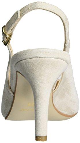 CafèNoir Mxp602, Scarpe con Cinturino Donna Beige Chiaro