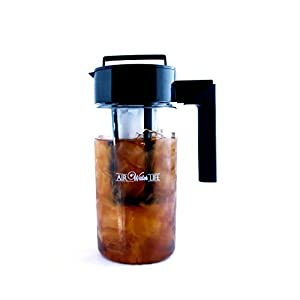 Air Water Life Cold Brew Pitcher | BPA free | Ice Coffee Maker | Ice Tea Maker | Tea Infusion | Removable Filter & Airtight Design