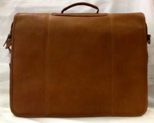 Dilana Dorado Three-gusset Briefbag in Natural Tan Leather 765525