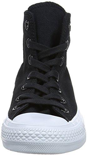 Converse Unisex-adult Chuck Taylor All Star High Sneaker Zwart (zwart / Zwart / Zuiver Platina)