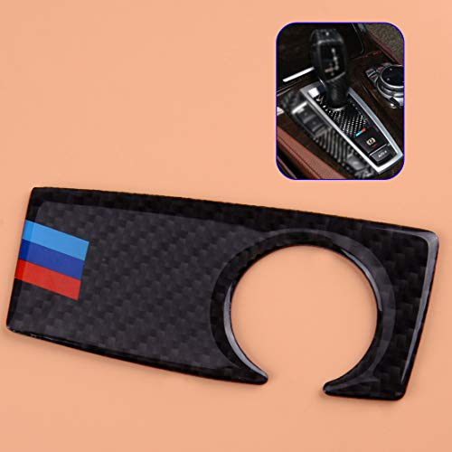 Carbon Fiber Gear Shift Panel Decoration Handle Base Cover Trim Frame Sticker Fit for BMW 5 Series F10 2011-2016