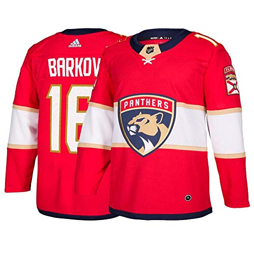 adidas Aleksander Barkov Florida Panthers NHL Men's Red Authentic On-Ice Pro Jersey - Florida Jersey Panthers