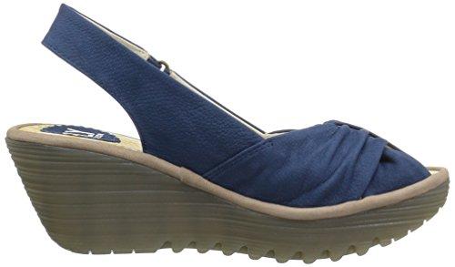 Concrete Sandal Blue Womens Wedge Fly Cupido Yata820fly London WYqAwYZ4z
