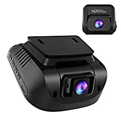 Both front and rear camera is 1080P This car cam adopts NOVATEK chip which can greatly improve its performance on definition especially night vision.According to our contrast test, the video is really much better than others.Dual F1.8 Apertur...
