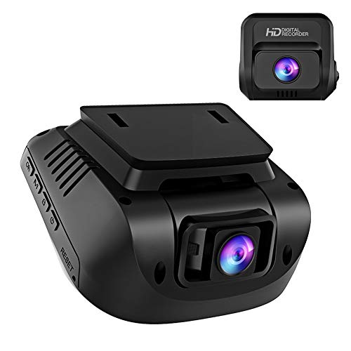 Both 1080P FHD Front and Rear Dual Lens Dash Cam in Car Camera Recorder Crosstour External GPS HDR Both 170°Wide Angle Motion Detection G-Sensor Loop Recording(CR900) (Best Dual Dash Cam)
