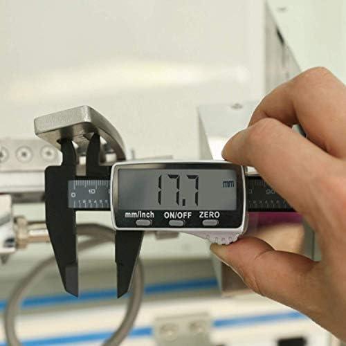 HYY-YY Digital Caliper Measuring Tool Digital Caliper, Durable Electronic Measuring Tool 6 Inch/150mm With Large LCD Vernier Caliper 2pcs (Size : 210-150-158)