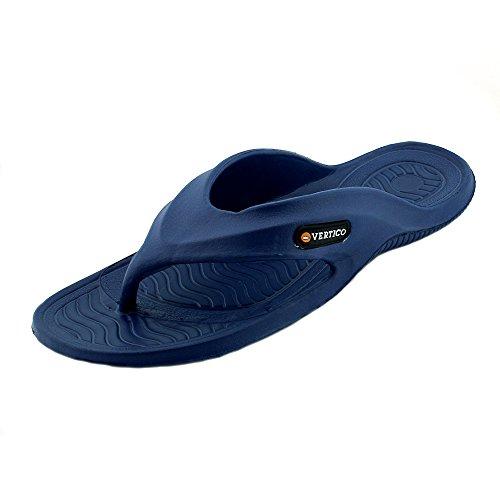 Vertico Shower Sandal Blue Rubber 12 US