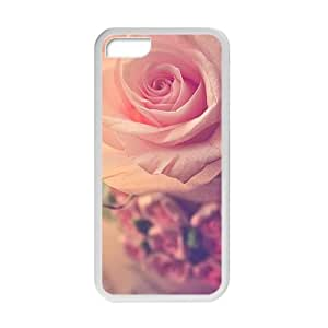 glam pink flowers personalized high quality cell phone case for Iphone 5/5s