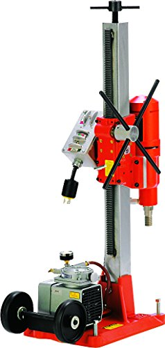Diamond Products 01694 Core Bore M-2 Complete Combination Drill Rig with 20 Amp Milwaukee 4004 Motor