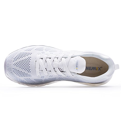 OneMix Air Running Shoes 2018 Men's Casual Sport Shoes Athletic Jogging Fitness White ISC9DCf