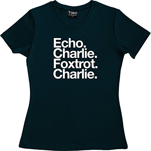 T34 - Camiseta - para mujer Navy Blue Women's T-Shirt